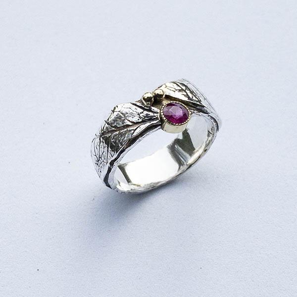 geboortesteen-robijn-ring