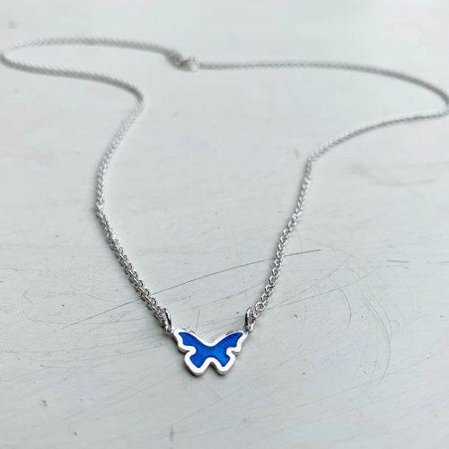 vlinder-ketting