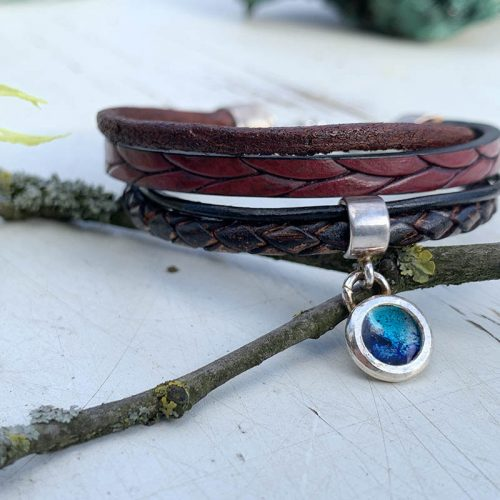 leren-armband-dreamscape-bedel