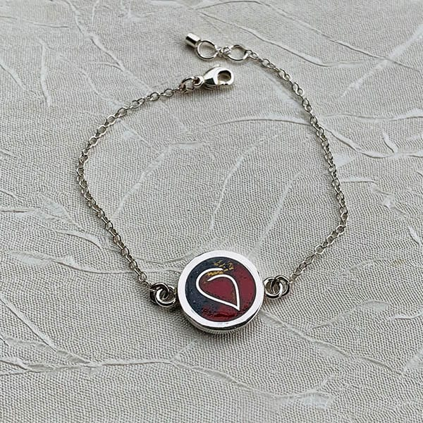 symbool-hartje-armband-zilver-goud