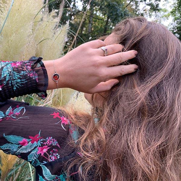 symbool-armband-hartje-rood