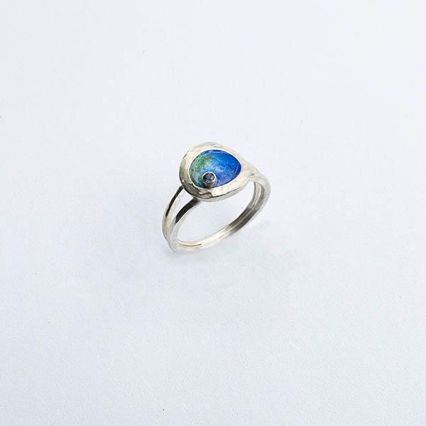 Nature-ring-geboortesteen