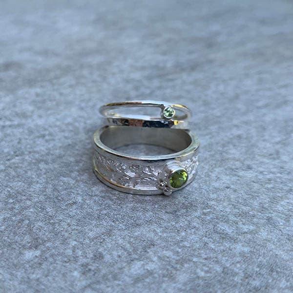 geboortestenen-peridoot-ringen