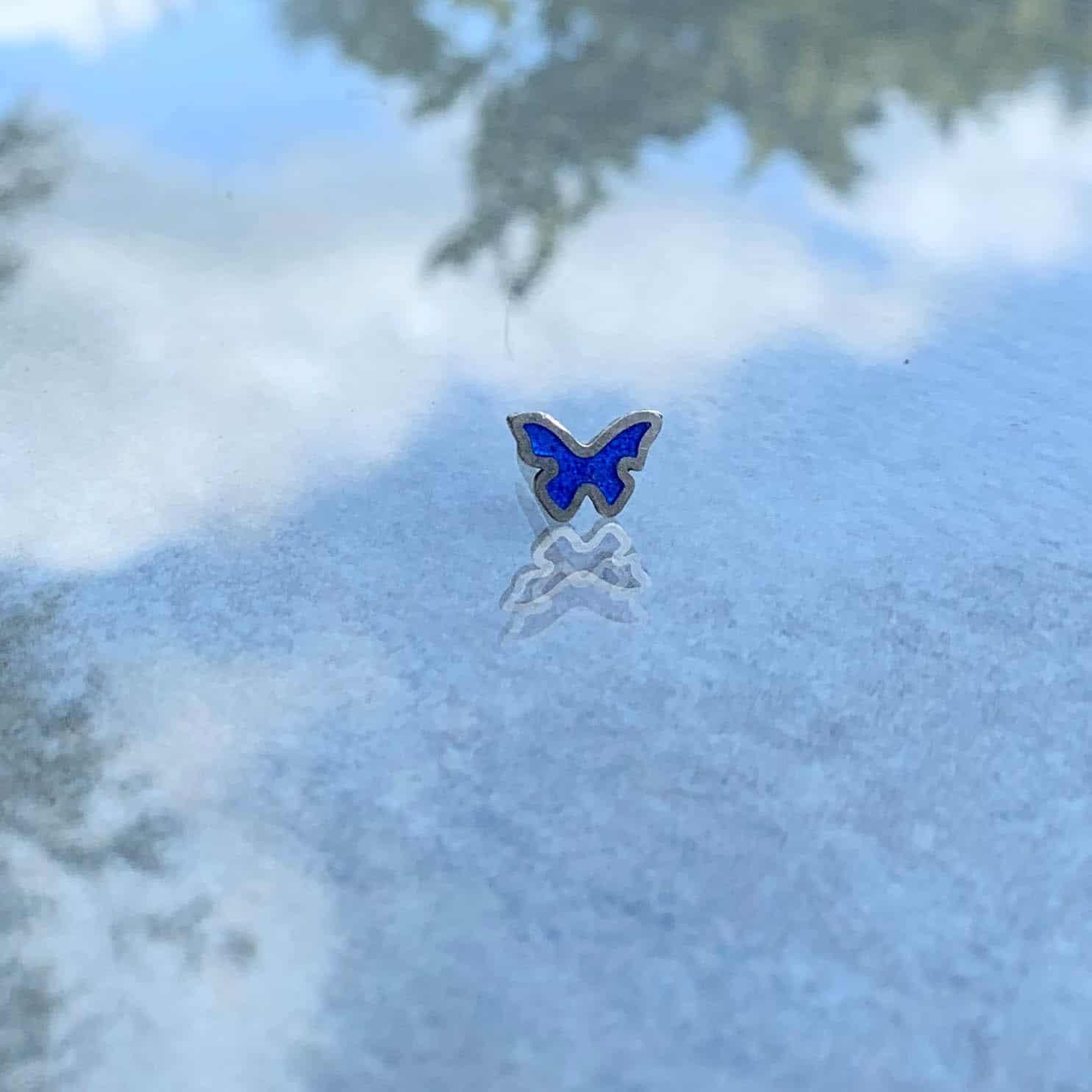Vlinder-broche