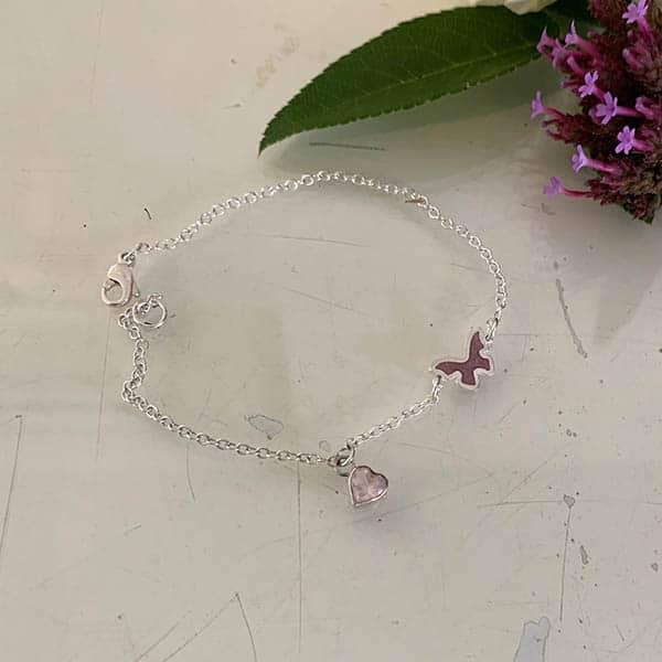 symboolarmband-vlinder-rozenkwarts