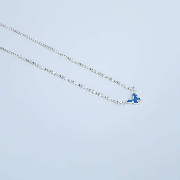 symboolhanger-Vlindertje-ketting-plat